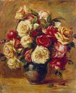 tablou Renoir - bouquet of roses, 1909 13