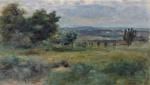 tablou renoir - landscape, 1900 03
