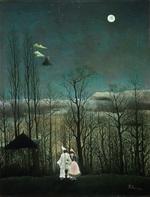 tablou henri julien felix rousseau - carnival evening