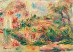 tablou renoir - landscape, 1919 02