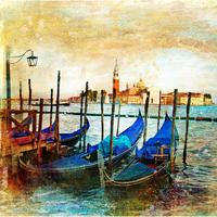 tablou venetia, vintage, italia (162)