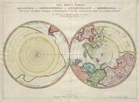 tablou Polul Nord, Polul Sud, 1657