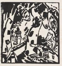 tablou wassily kandinsky - archer, 1908