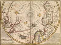 tablou Polul Nord,  1730