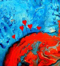 Tablou canvas abstract art (598)
