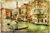 tablou venetia, vintage, italia (151)