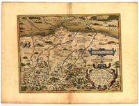 Tablou canvas tablou harta antica (232)