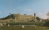 tablou canaletto - warwick castle
