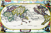 tablou harta antica 1700 (1)