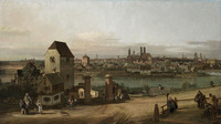 Tablou canaletto - a view of munich