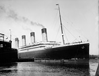 Tablou canvas rms olympic (1910), vintage