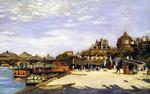 tablou renoir -  renoir the pont des arts