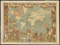 tablou harta antica (217)
