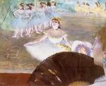 tablou 1878  edgar degas - le ballet