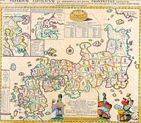 tablou harta veche japonia (1)