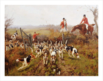 tablou foxhounds 1