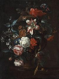 Tablou canvas flori, reproducere pictura (125), 1700