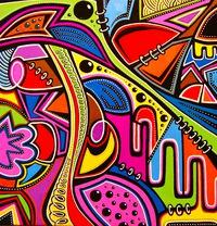 Tablou canvas abstract art (599)