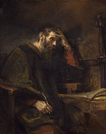 tablou rembrandt - paul (1657)