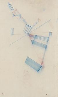 tablou wassily kandinsky - two spirals, 1932