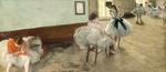 tablou degas - dance lesson, 1874