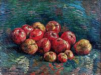 tablou van gogh - still life with apples, 1887