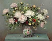 tablou marcel dyf - peonies, 1982