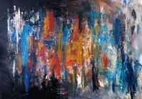Tablou canvas abstract art (610)