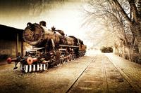 tablou locomotiva cu abur (9)