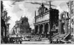 tablou piranesi - roma antica, alb negru 28