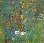 tablou Gustav Klimt - Sunflower