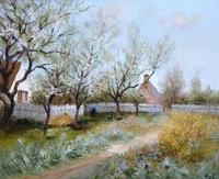 tablou marcel dyf - spring garden