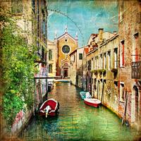 tablou venetia, vintage, italia (158)