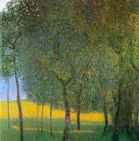 Tablou canvas Gustav Klimt - fruit trees