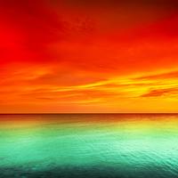 Tablou canvas apus de soare (136)