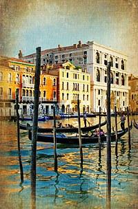 tablou venetia, vintage, italia (152)