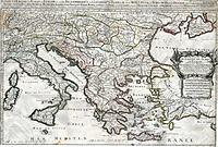 tablou harta antica imperiul otoman