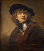 tablou rembrandt - portret of a young man (1639)