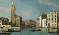 Tablou studio of canaletto - venice - entrance to the cannaregio