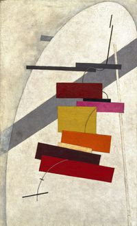 Tablou canvas el lissitzky - untitled, ca. 1919