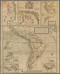tablou south america, 1736