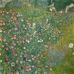 tablou Gustav Klimt - gradina italiana