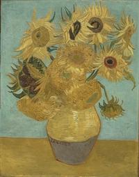 tablou van gogh - sunflowers, 1889 (2)