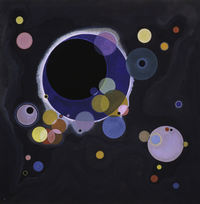 Tablou canvas kandinsky - various circles