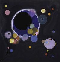 tablou kandinsky - various circles