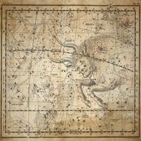 tablou star constellation, astrology map, 1820 (11)