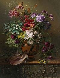 tablou flori, reproducere pictura (100), 1817