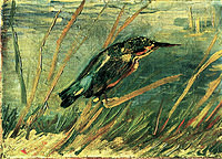 tablou van gogh - the kingfisher, 1886