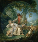 tablou francois boucher - dream