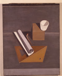 Tablou canvas le corbusier - le bol blanc, 1919
